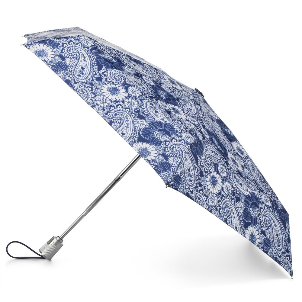 Auto Open Close Umbrella with NeverWet® Open Side Profile