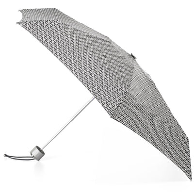 Mini Manual Umbrella With Neverwet in Nordic Status Open Side Profile