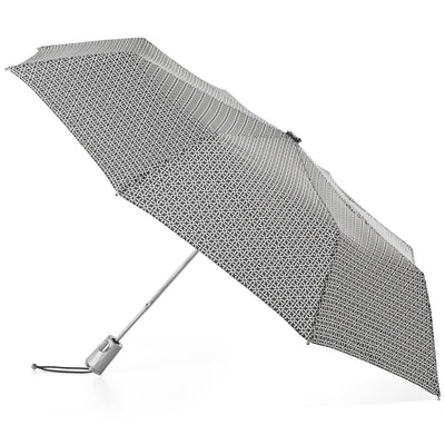 Signature Auto Open Umbrella With Neverwet in Nordic Status Open Side Profile
