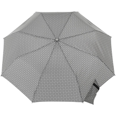 Signature Auto Open Umbrella With Neverwet in Nordic Status Open Top View