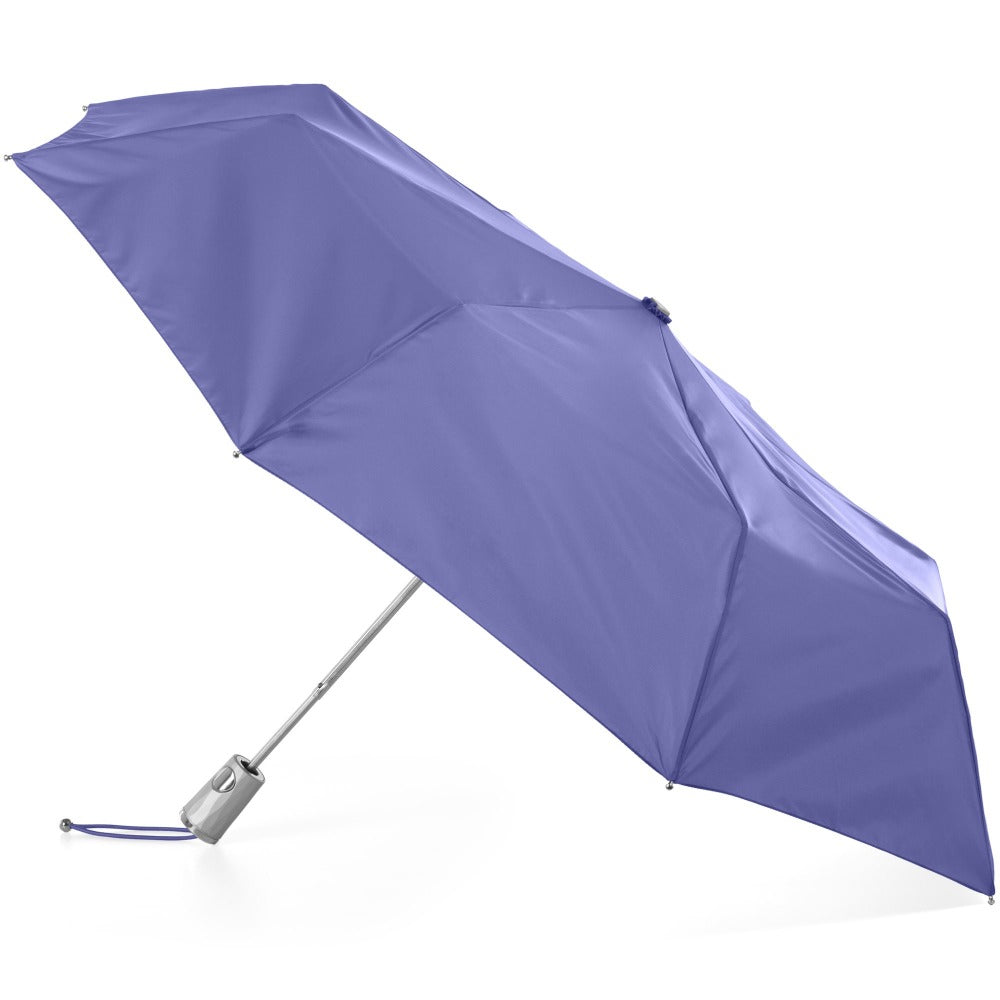 Signature Auto Open Umbrella With Neverwet in Purple Opulence Open Side Profile