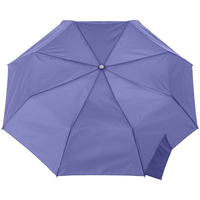 Signature Auto Open Umbrella With Neverwet in Purple Opulence Open Top View