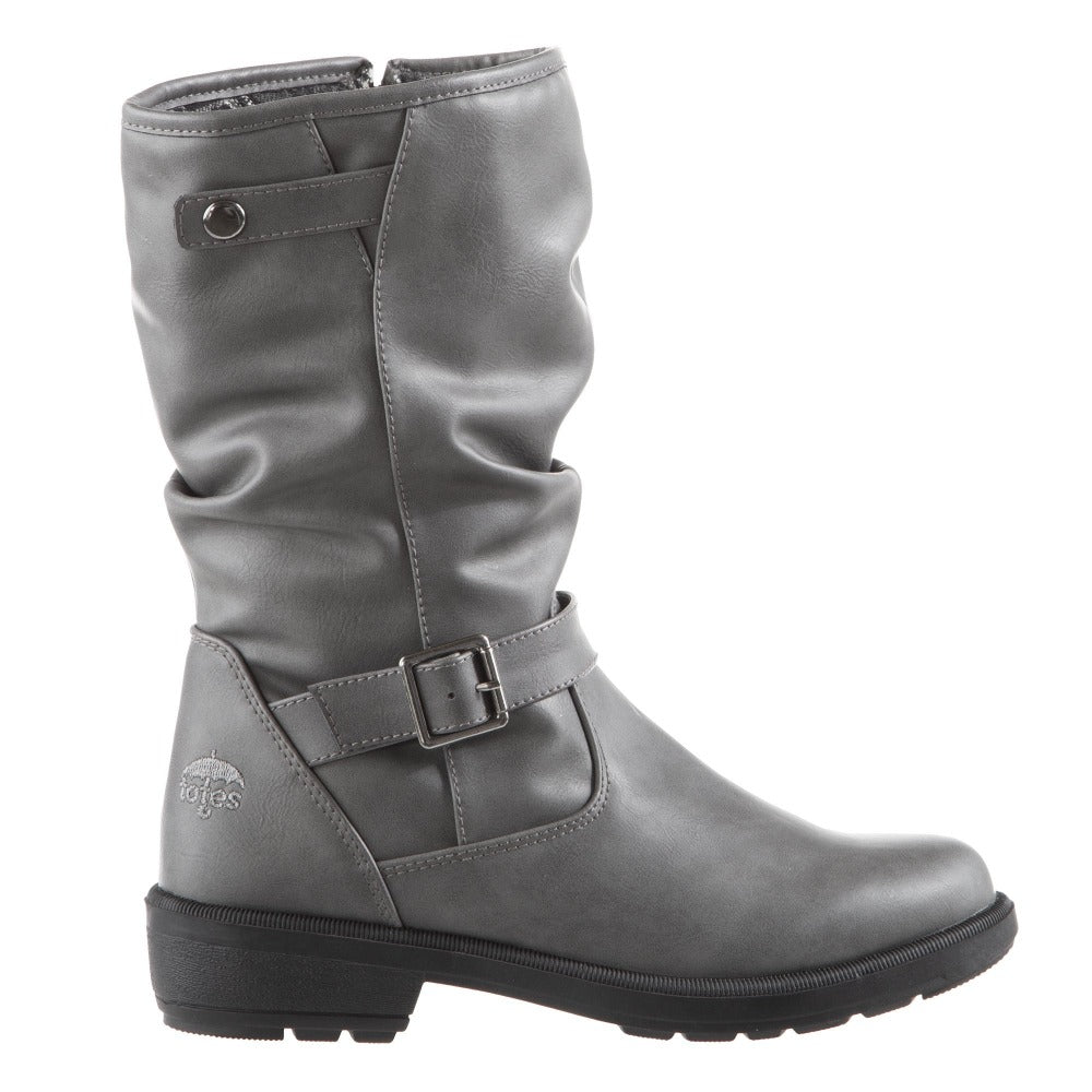 Women's Haggle Winter Boots in Grey Profile