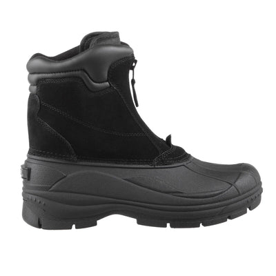 Men's Glacier Winter Boots in Black Profile