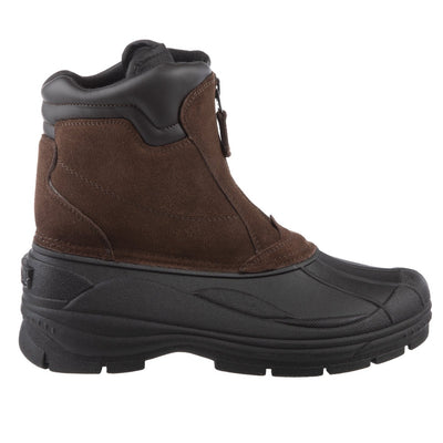 Men's Glacier Winter Boots in Brown Profile