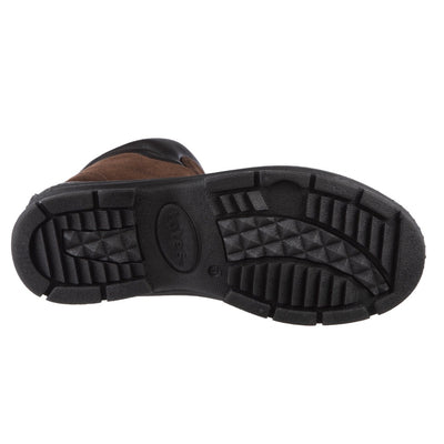Men's Glacier Winter Boots in Brown Bottom Sole Tread