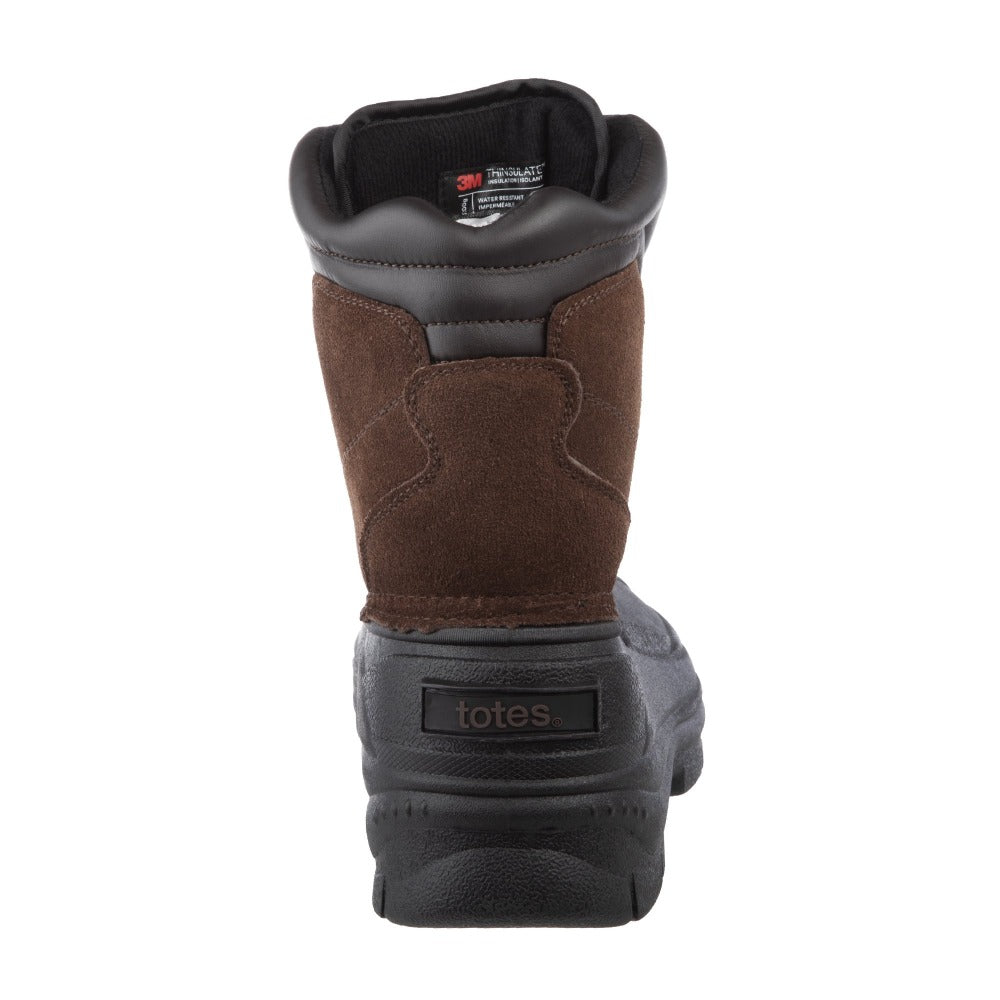 Men's Glacier Winter Boots in Brown Back