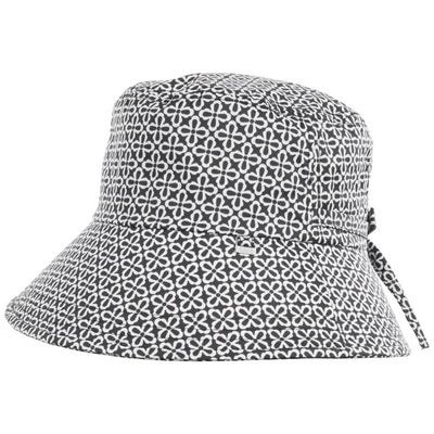 Women's Bow Rain Hat in Nordic Status Side Profile