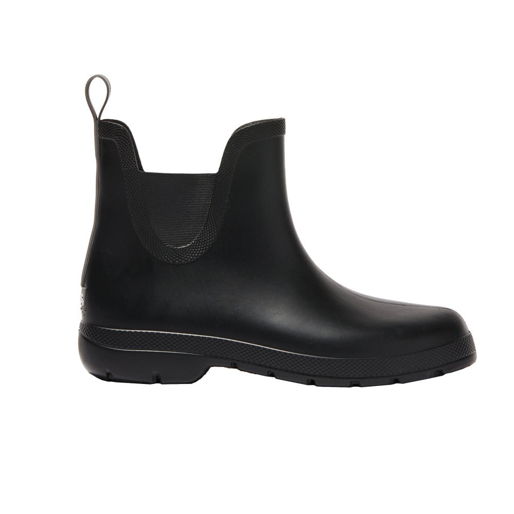 Cirrus™ Women's Chelsea Ankle Rain Boots in Black Profile