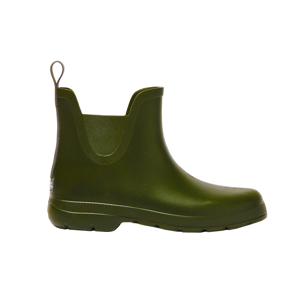 Cirrus™ Women's Chelsea Ankle Rain Boots in Loden Profile