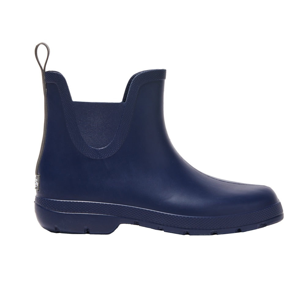 Cirrus™ Women's Chelsea Ankle Rain Boots in Navy Blue Profile