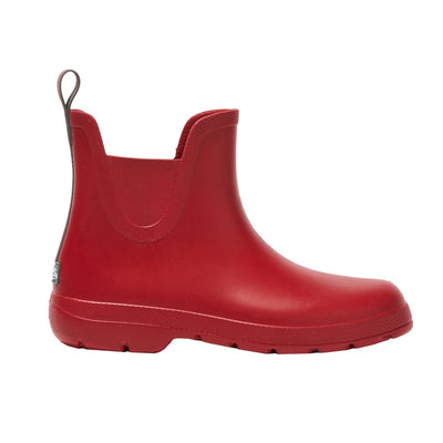 Cirrus™ Women's Chelsea Ankle Rain Boots in Red Profile