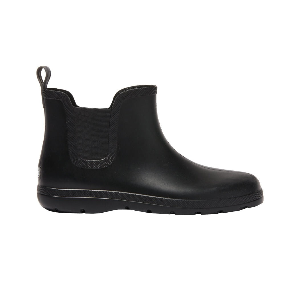 Cirrus™ Men's Chelsea Ankle Rain Boot in Black Profile