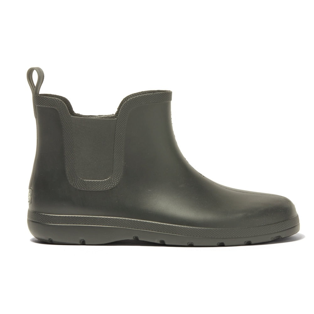 Cirrus™ Men's Chelsea Ankle Rain Boot in Loden Profile