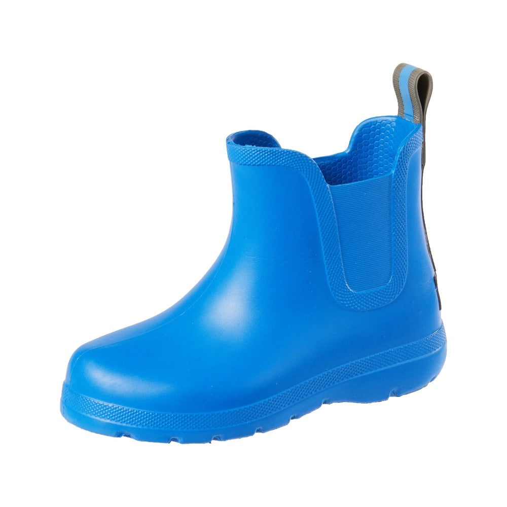 Cirrus™ Toddler's Chelsea Ankle Rain Boot in Regatta Blue Left Angled View