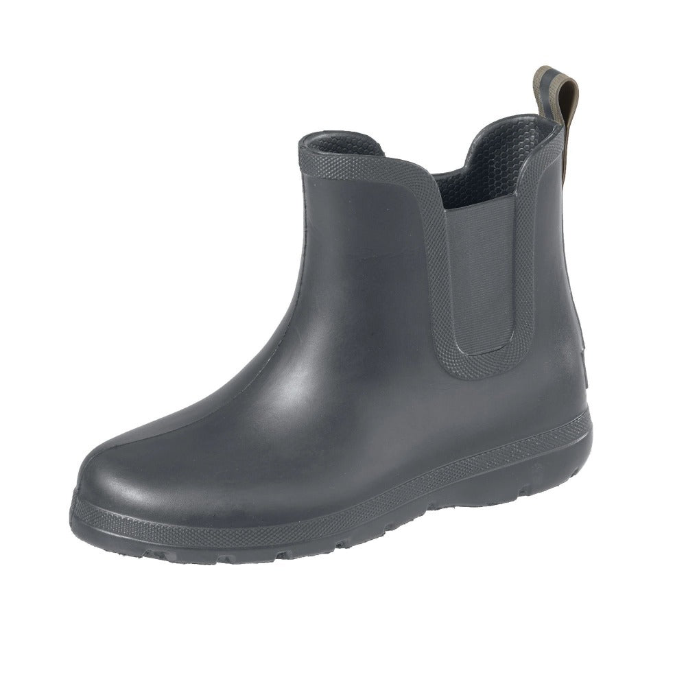 Cirrus™ Kid's Chelsea Ankle Rain Boot in Mineral Left Angled View