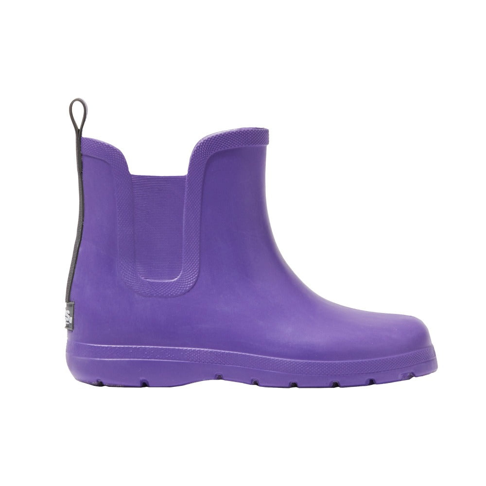 Cirrus™ Kid's Chelsea Ankle Rain Boot in Paisley Purple Profile