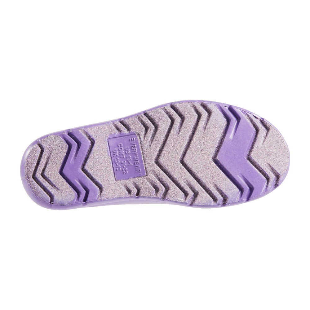 Cirrus Toddler Rain Sole in Paisley Purple