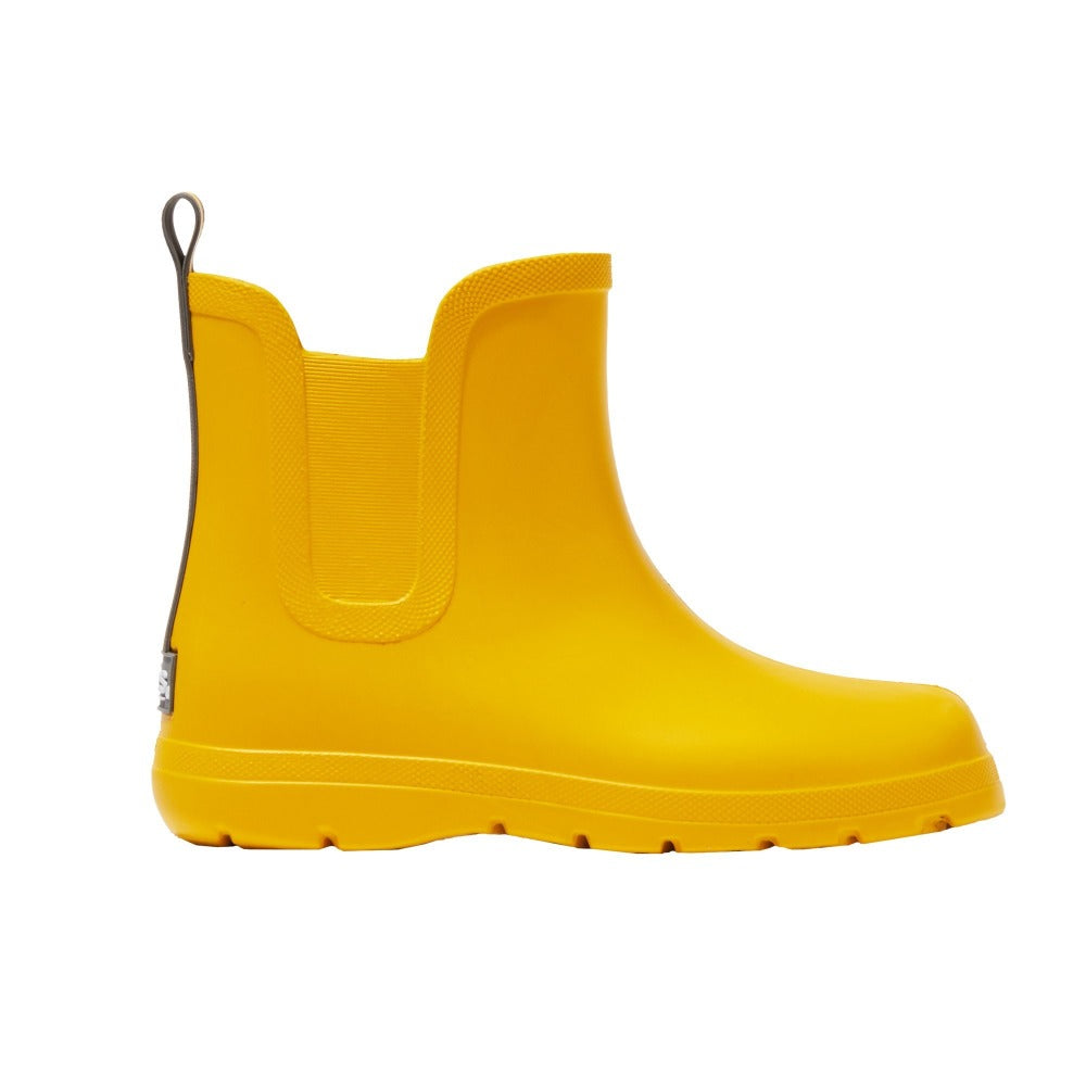 Cirrus™ Kid's Chelsea Ankle Rain Boot in School Bus Yellow Profile