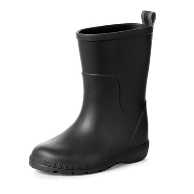 Cirrus™ Toddler's Charley Tall Rain Boot in Black Left Angled View