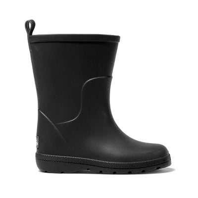 Cirrus™ Toddler's Charley Tall Rain Boot in Black Profile