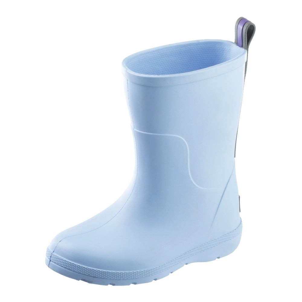 Cirrus™ Toddler's Charley Tall Rain Boot in Bonnie Blue Left Angled View