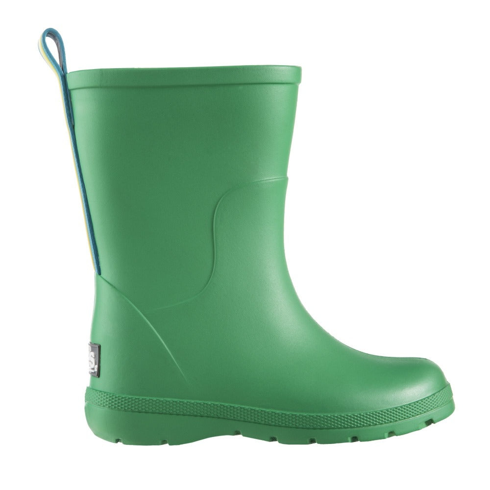 Cirrus™ Toddler's Charley Tall Rain Boot in Classic Green Profile