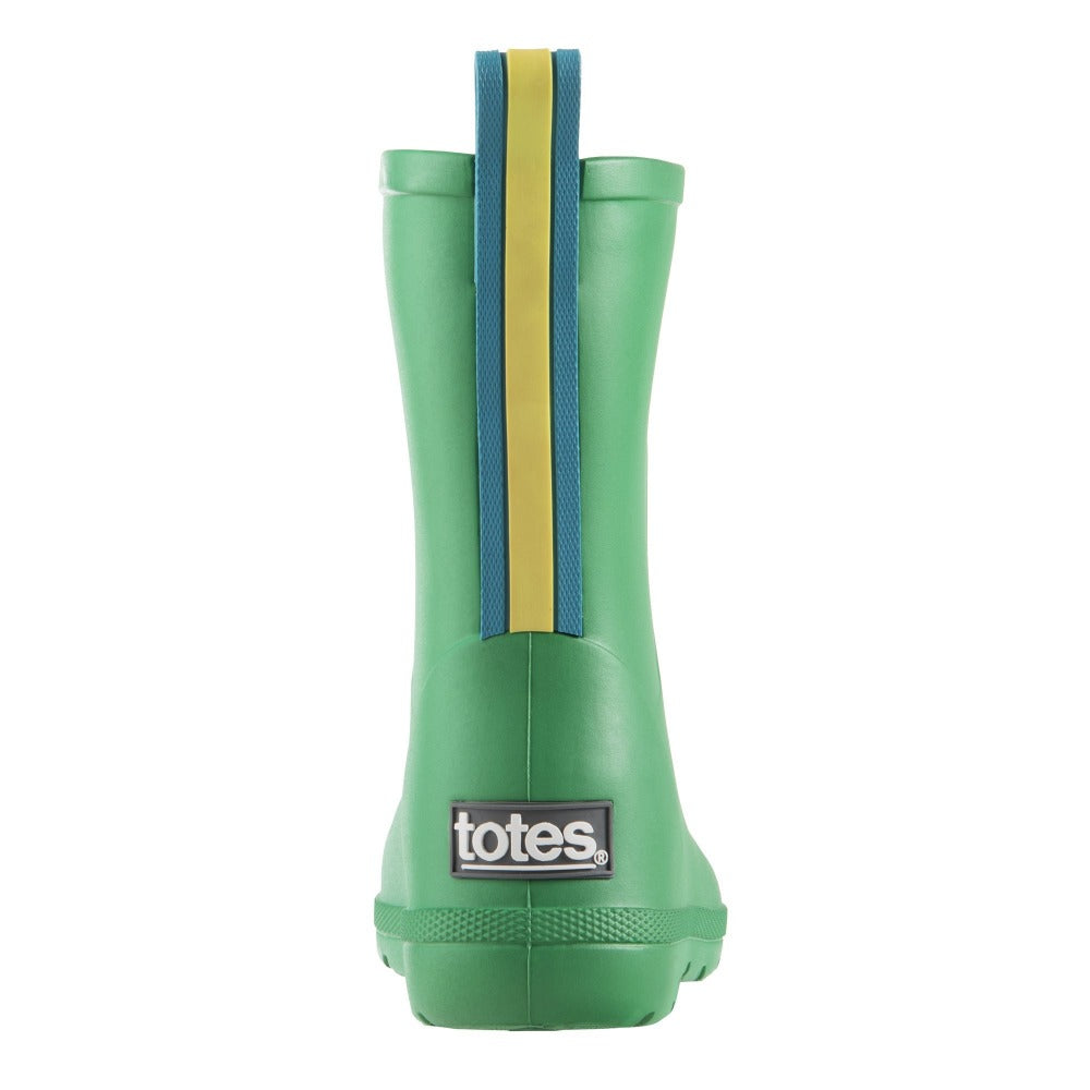 Cirrus™ Toddler's Charley Tall Rain Boot in Classic Green Back