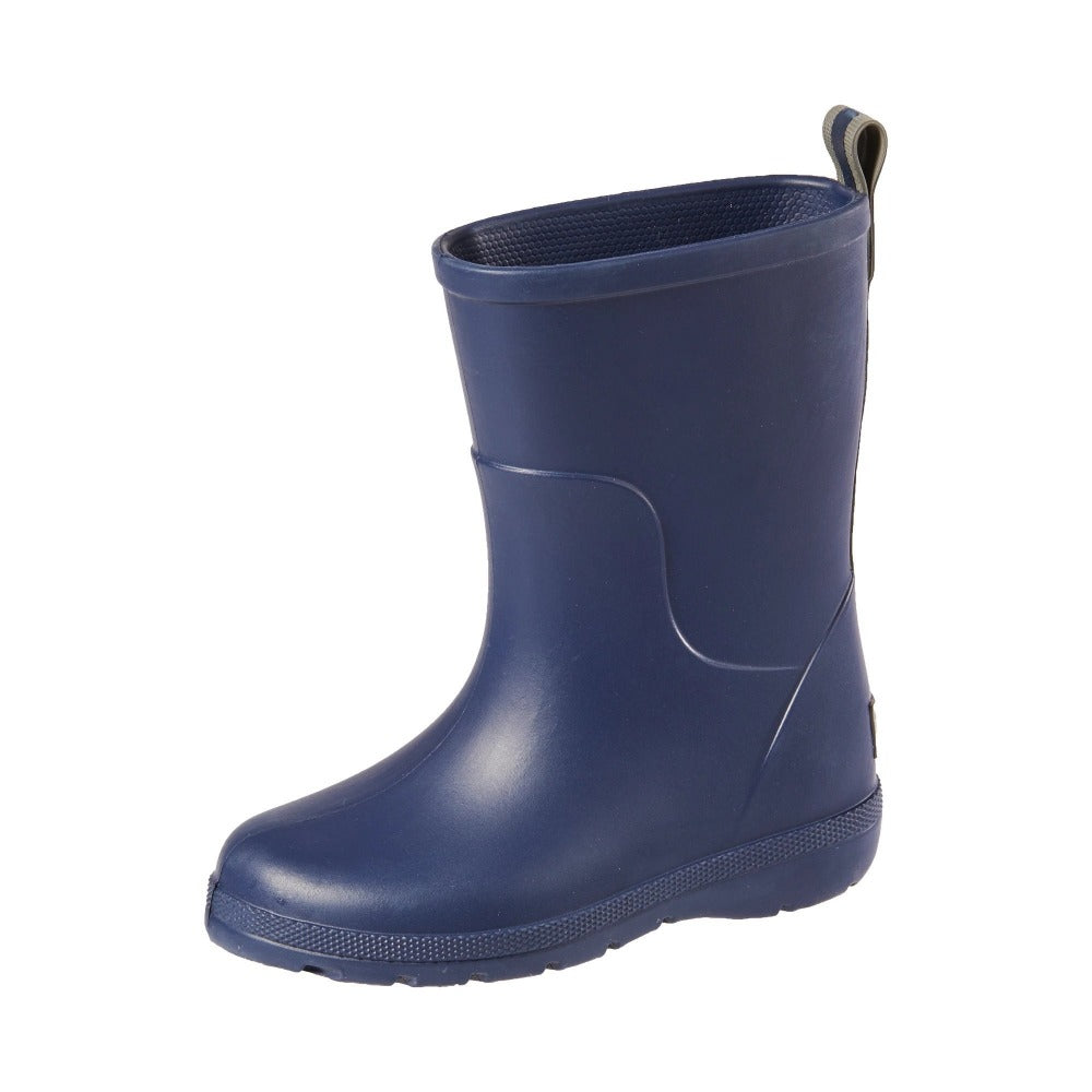 Cirrus™ Toddler's Charley Tall Rain Boot in Navy Blue Left Angled View