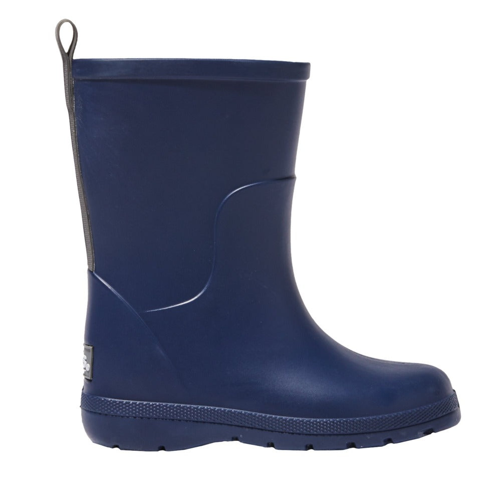 Cirrus™ Toddler's Charley Tall Rain Boot in Navy Blue Profile