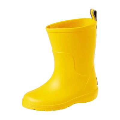 Cirrus™ Toddler's Charley Tall Rain Boot in School Bus Left Angled View