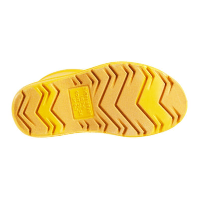 Cirrus™ Toddler's Charley Tall Rain Boot in School Bus Bottom Sole Tread