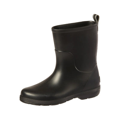 Cirrus™ Kid's Charley Tall Rain Boot in Black Left Angled View
