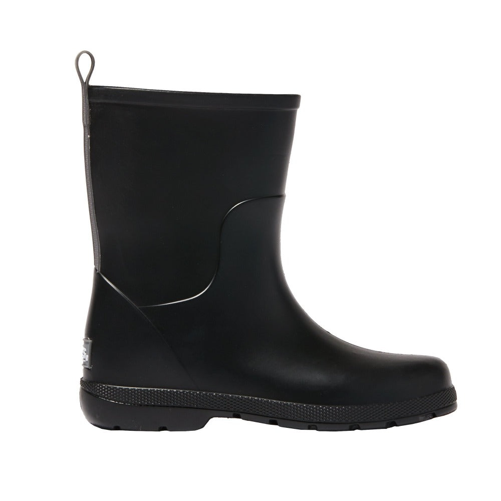 Cirrus™ Kid's Charley Tall Rain Boot in Black Profile
