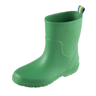 Cirrus™ Kid's Charley Tall Rain Boot in Classic Green Left Angled View