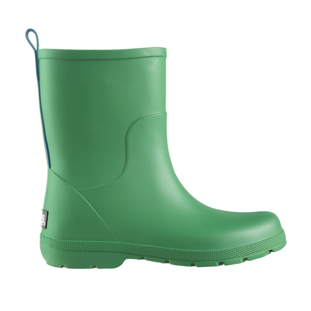 Cirrus™ Kid's Charley Tall Rain Boot in Classic Green Profile