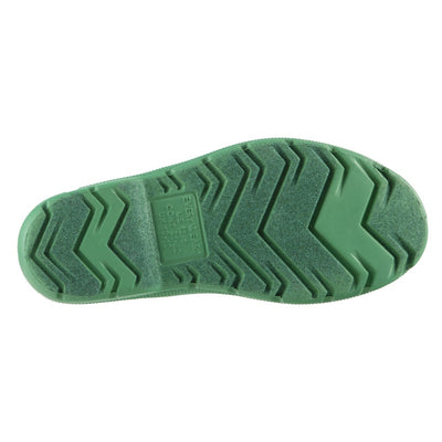 Cirrus™ Kid's Charley Tall Rain Boot in Classic Green Bottom Sole View