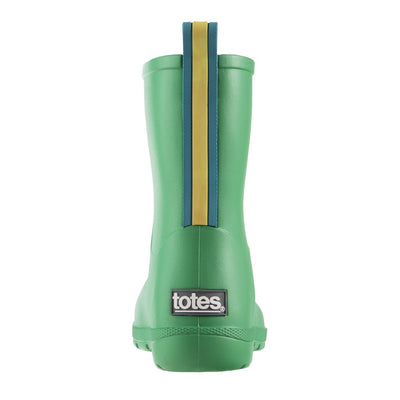 Cirrus™ Kid's Charley Tall Rain Boot in Classic Green Back