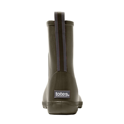 Cirrus™ Kid's Charley Tall Rain Boot in Loden Back