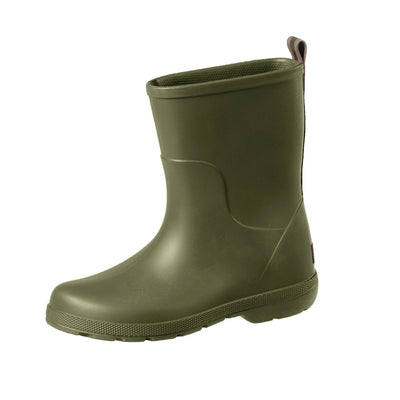 Cirrus™ Kid's Charley Tall Rain Boot in Loden Left Angled View