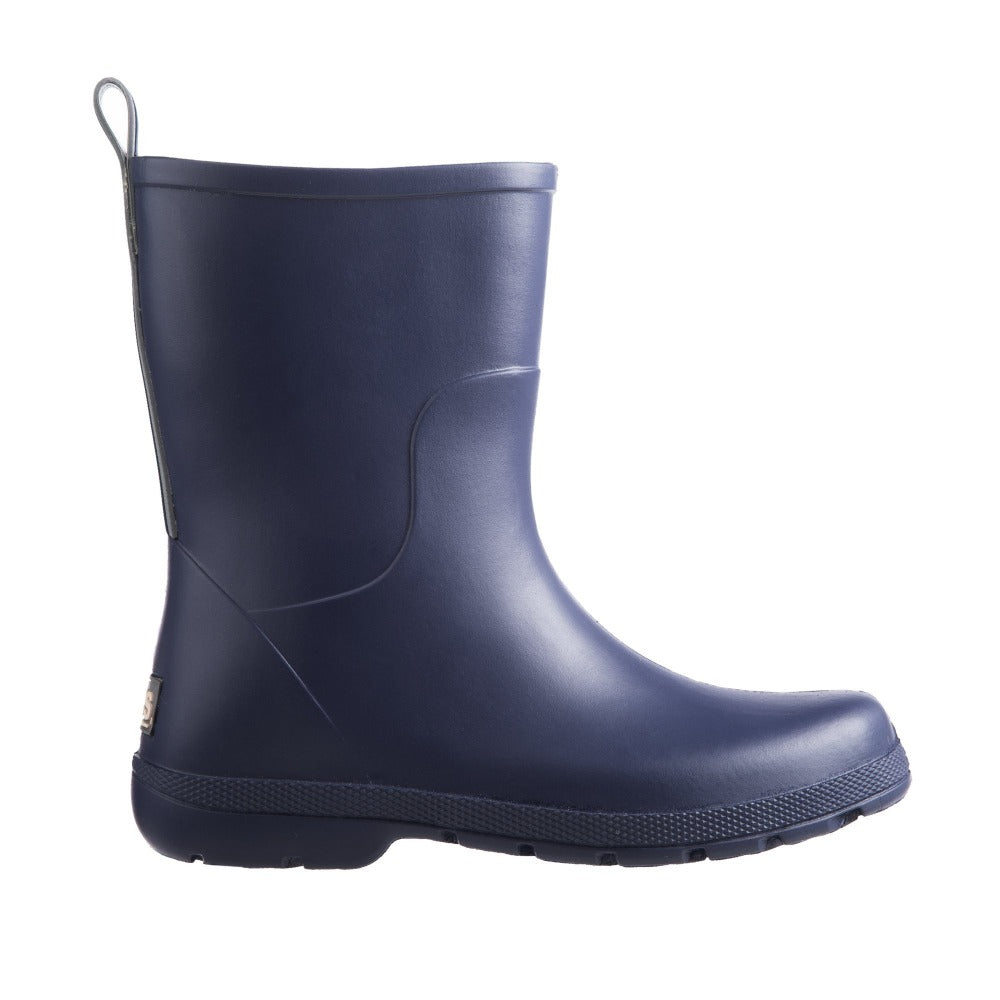 Cirrus™ Kid's Charley Tall Rain Boot in Navy Blue Profile
