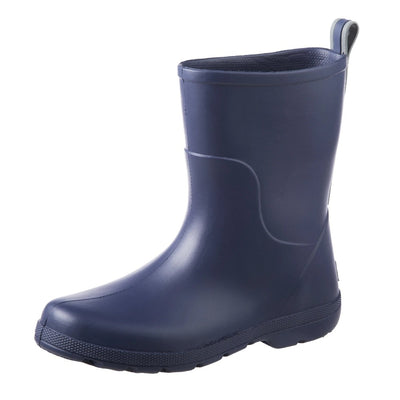 Cirrus™ Kid's Charley Tall Rain Boot in Navy Blue Left Angled View