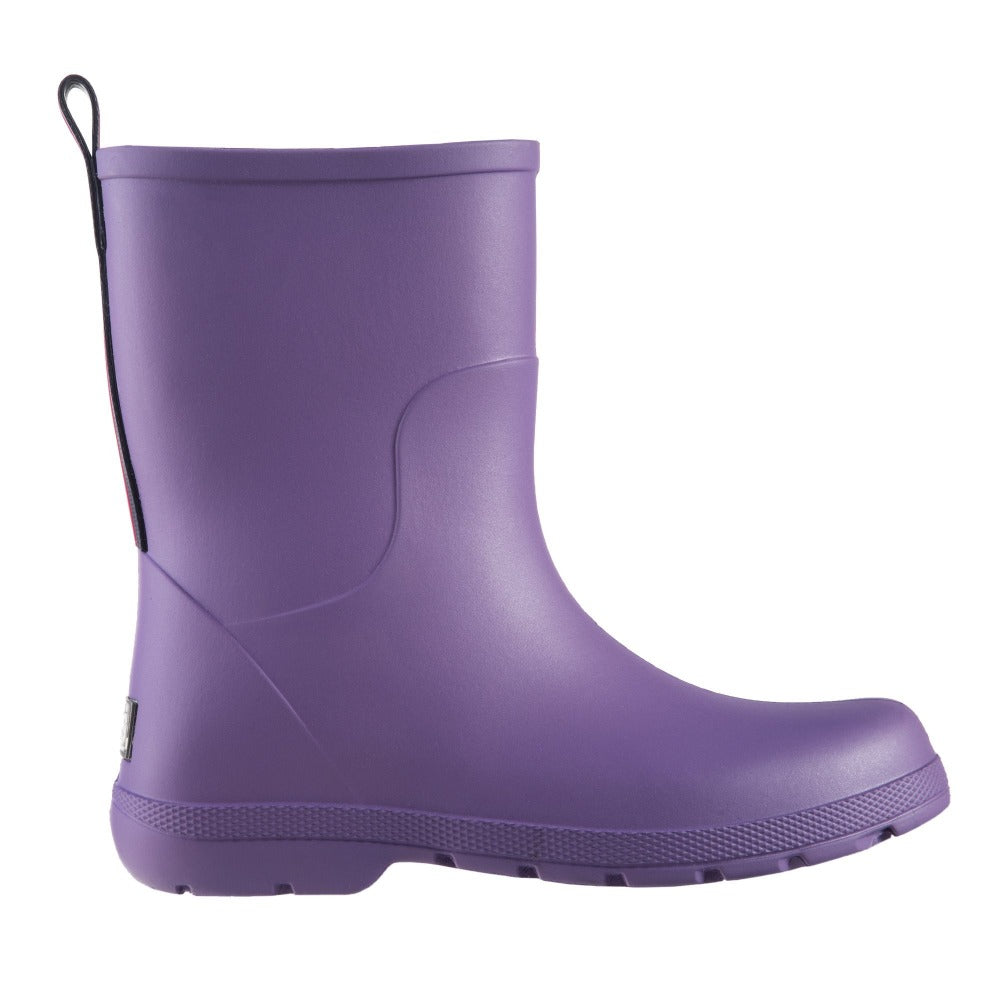 Cirrus™ Kid's Charley Tall Rain Boot in Paisley Purple Profile