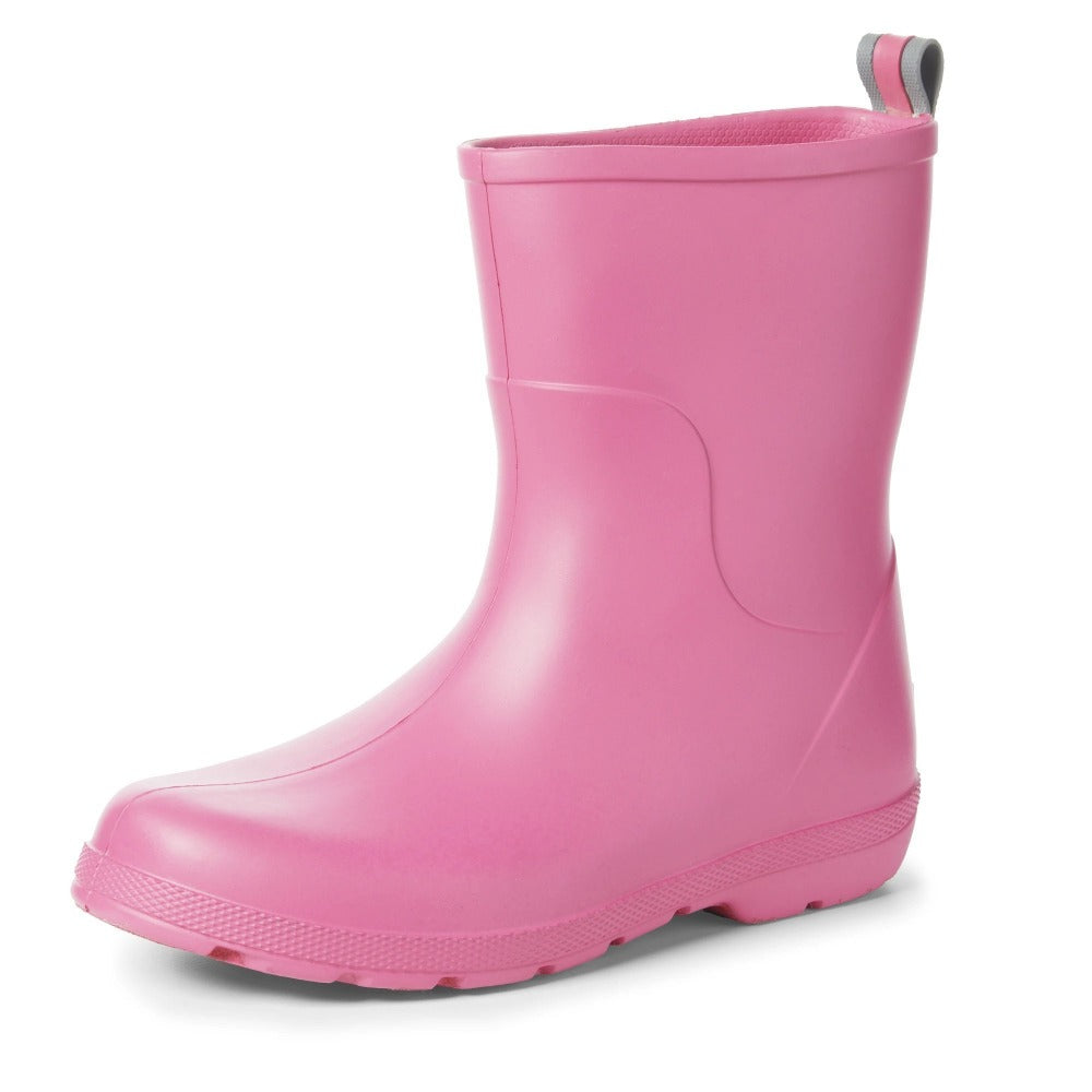 Cirrus™ Kid's Charley Tall Rain Boot in Rosebloom Left Angled View