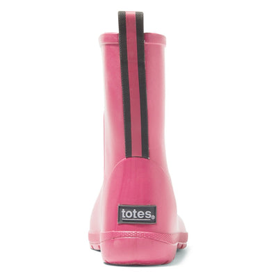 Cirrus™ Kid's Charley Tall Rain Boot in Rosebloom Back