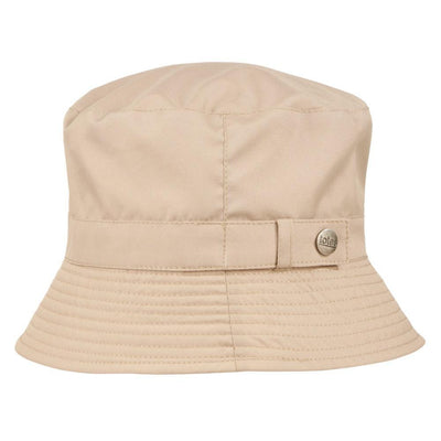 totes rain hat in tan