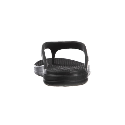 Women's Sol Bounce Ara Thong Sandal in Black Back