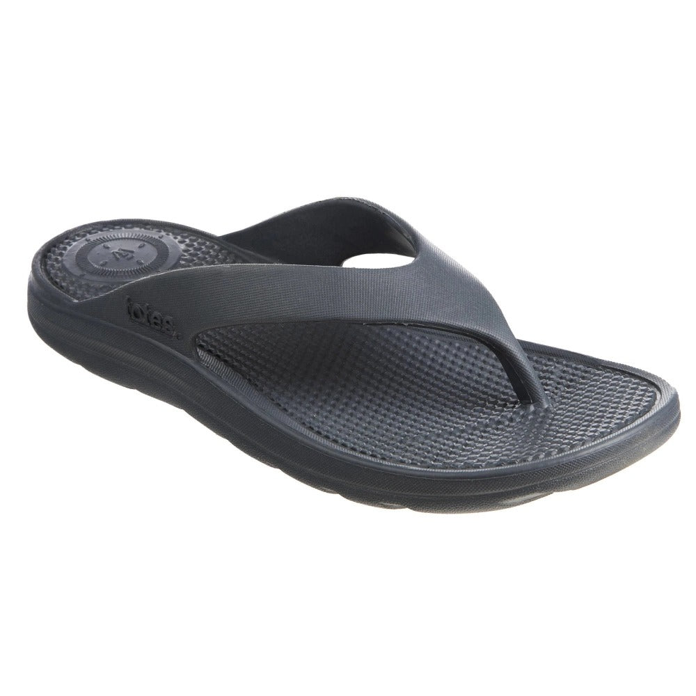 Women's Sol Bounce Ara Thong Sandal in Mineral Right Angled View