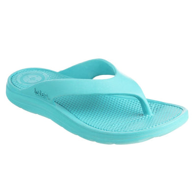 Women's Sol Bounce Ara Thong Sandal in Splash Right Angled View