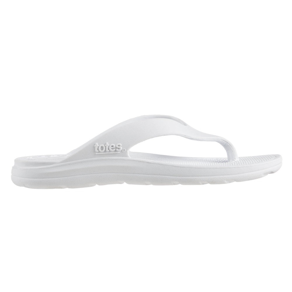 Women's Sol Bounce Ara Thong Sandal in White Profile